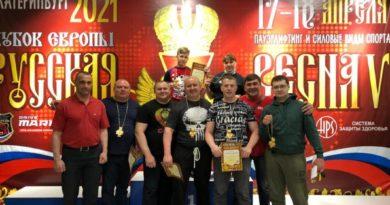 Сухоложская команда на чемпионате Европы