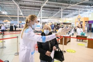 Вакцинация от коронавируса в ТЦ Екатеринбурга