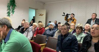 Сход граждан с Новопышминское