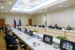 В резиденции Губернатора Свердловской области