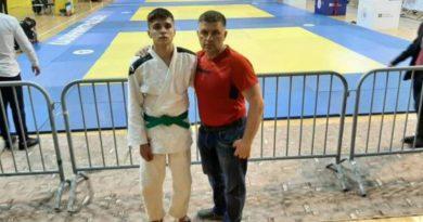 Ислам Буглуев с тренером Александром Тюменцевым