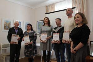 Сухоложские стихотворцы с благодарностями от Литературного музея Щипачева