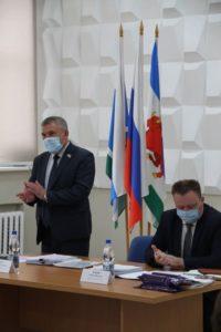 Заседание Сухоложской Думы