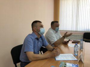 Министр АПК А. Бахтерев и глава Сухого Лога Р. Валов