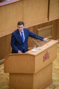 Отчет перед Депутатами Заксобрания