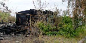 Пожар на ул. Ленина в г. Сухой Лог