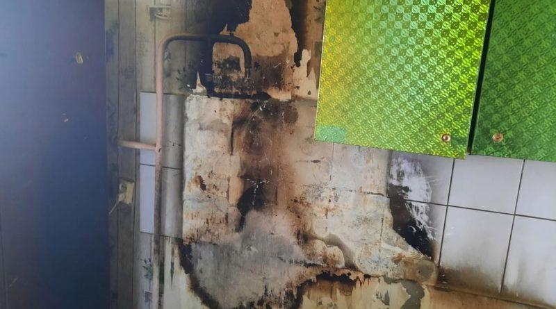 Пожар в селе Филатовском