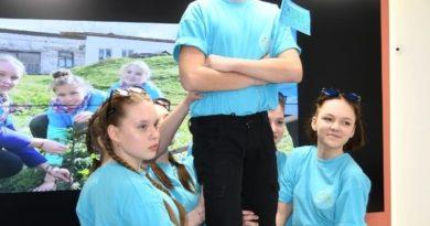 Новопышминские школьники на фестивале «Моя Земля»