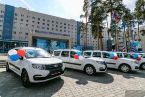 треть новых машин отправляются на расширение автопарка больниц