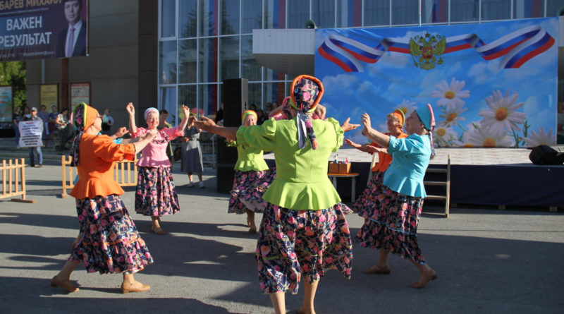 Танец «Барыня-сударыня»