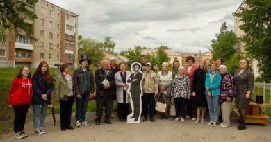 Участники первого Пушкинского марафона, г. Сухой Лог, 2019 г.
