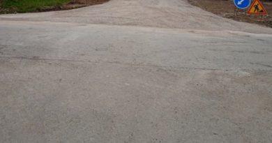 В п. Алтынай отремонтировали дорогу