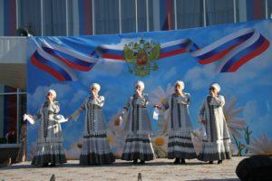 Выступление ансамбля «Виноград»