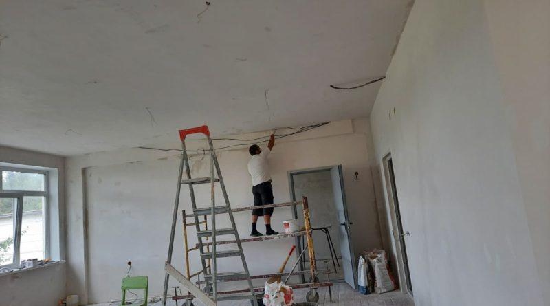 Ремонт в будущем кабинете «Точки роста»