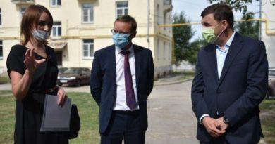 Евгений Куйвашев передал главе Каменска-Уральского перечень острых вопросов