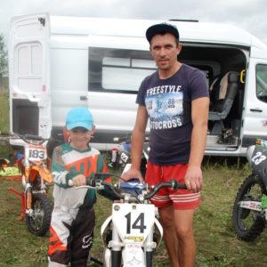 Александр Медведев с сыном Дмитрием