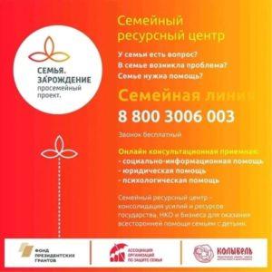 Оперативная помощь семье и детям