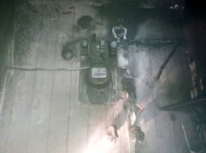 пожар в г. Сухой Лог