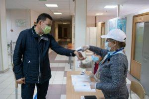 Евгений Куйвашев 18 сентября принял участие в выборах депутатов Государственной Думы РФ и Законодательного собрания Свердловской
