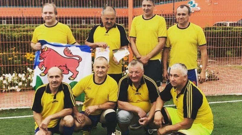 Команда ветеранов в г. Туринск